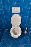 Κάθισμα τουαλετών ανοικτό στοκ φωτογραφία με δικαίωμα ελεύθερης χρήσης