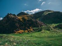 Κάθισμα Arthurs, Εδιμβούργο Σκωτία Στοκ Εικόνες