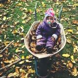 Κάθισμα wheelbarrow Στοκ Εικόνες