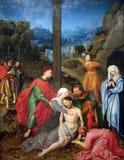 Κάθοδος από το σταυρό στοκ εικόνες