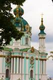 Κάθοδος του ST Andrew ` s στο Κίεβο, Ουκρανία στοκ φωτογραφία