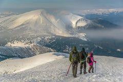 Κάθοδος του βουνού στοκ φωτογραφία με δικαίωμα ελεύθερης χρήσης