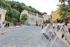 Κάθοδος Andreevsky σε Kyiv στοκ εικόνα με δικαίωμα ελεύθερης χρήσης