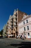 Κάθοδος Andriyivskyy, Κίεβο στοκ εικόνα