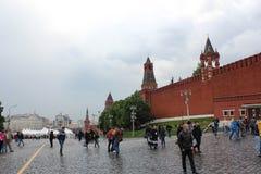 Κάθοδος Vasilevsky, το Κρεμλίνο στοκ φωτογραφία με δικαίωμα ελεύθερης χρήσης