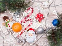 Κάλαμοι καραμελών Χριστουγέννων Στοκ φωτογραφία με δικαίωμα ελεύθερης χρήσης