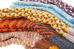 κάλτσα δώρων μάλλινη Στοκ εικόνα με δικαίωμα ελεύθερης χρήσης
