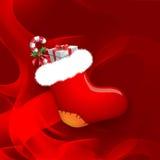 κάλτσα Χριστουγέννων Στοκ εικόνες με δικαίωμα ελεύθερης χρήσης