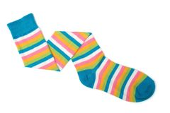 κάλτσα Στοκ φωτογραφία με δικαίωμα ελεύθερης χρήσης