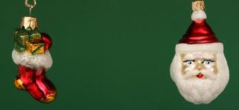 κάλτσα santa Claus Χριστουγέννων ANS Στοκ φωτογραφία με δικαίωμα ελεύθερης χρήσης