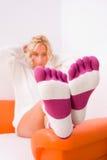 κάλτσες Στοκ Φωτογραφία
