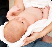 κάλυμμα μωρών που τυλίγεται Στοκ Φωτογραφίες