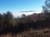 Κάλυμμα ομίχλης στοκ φωτογραφίες