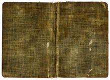 κάλυψη καμβά βιβλίων Στοκ φωτογραφία με δικαίωμα ελεύθερης χρήσης