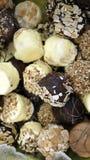 Κάλυψη σοκολατών με τα δημητριακά στοκ εικόνα με δικαίωμα ελεύθερης χρήσης