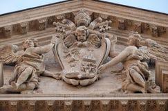 Κάλυψη των όπλων του παπά Αλέξανδρος VII Chigi Στοκ εικόνες με δικαίωμα ελεύθερης χρήσης