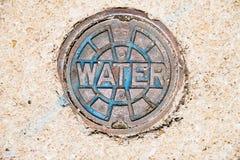 Κάλυψη χρησιμότητας νερού Στοκ φωτογραφίες με δικαίωμα ελεύθερης χρήσης