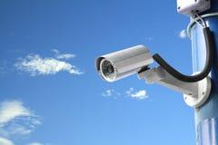 Κάμερα ασφαλείας Στοκ εικόνες με δικαίωμα ελεύθερης χρήσης