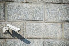 Κάμερα ασφαλείας συνημμένα στοκ φωτογραφία με δικαίωμα ελεύθερης χρήσης