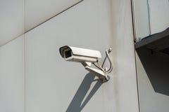 Κάμερα ασφαλείας συνημμένα στοκ εικόνες με δικαίωμα ελεύθερης χρήσης
