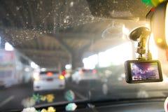 Κάμερα αυτοκινήτων CCTV Στοκ φωτογραφία με δικαίωμα ελεύθερης χρήσης