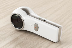 κάμερα 360 βαθμού Στοκ εικόνες με δικαίωμα ελεύθερης χρήσης