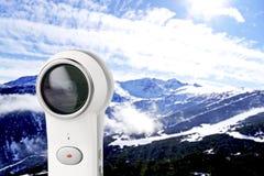 κάμερα 360 βαθμού Στοκ φωτογραφία με δικαίωμα ελεύθερης χρήσης