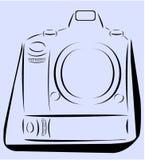 Κάμερα επαγγέλματος Στοκ Εικόνες