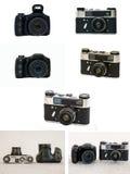 Κάμερα ζουμ Στοκ Φωτογραφίες
