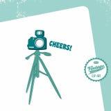 Κάμερα διεπαφών MEDIA Στοκ Εικόνα