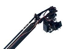 Κάμερα κινηματογράφων σε έναν γερανό Στοκ φωτογραφία με δικαίωμα ελεύθερης χρήσης