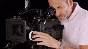 Κάμερα κινηματογράφων απόθεμα βίντεο