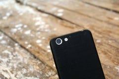 Κάμερα με τη λάμψη με πίσω κάλυψη-Smartphone στοκ εικόνα με δικαίωμα ελεύθερης χρήσης