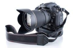 Κάμερα με το πιάσιμο στοκ εικόνα