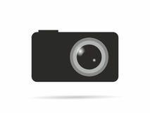 Κάμερα λογότυπων Ελεύθερη απεικόνιση δικαιώματος