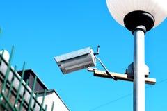 Κάμερα παρακολούθησης και συστήματα Στοκ Φωτογραφίες