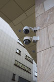 Κάμερα παρακολούθησης Στοκ Φωτογραφίες