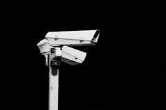 Κάμερα παρακολούθησης Στοκ φωτογραφίες με δικαίωμα ελεύθερης χρήσης