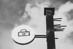 Κάμερα σημάτων Στοκ φωτογραφίες με δικαίωμα ελεύθερης χρήσης