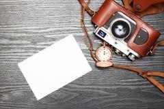 Κάμερα στον πίνακα Στοκ φωτογραφίες με δικαίωμα ελεύθερης χρήσης