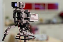 Κάμερα στούντιο Στοκ Φωτογραφίες