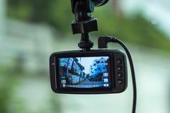 Κάμερα στο μέτωπο ενός αυτοκινήτου στοκ εικόνα με δικαίωμα ελεύθερης χρήσης