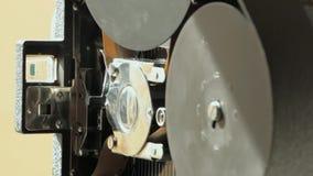 κάμερα ταινιών 16mm απόθεμα βίντεο