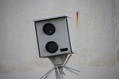 Κάμερα ταχύτητας της αστυνομίας στις Κάτω Χώρες Στοκ Εικόνες