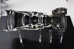 Κάμερα τμηματική στοκ εικόνα με δικαίωμα ελεύθερης χρήσης