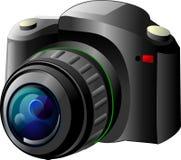 Κάμερα φωτογραφιών Στοκ εικόνες με δικαίωμα ελεύθερης χρήσης