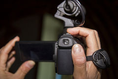 Κάμερα Στοκ εικόνα με δικαίωμα ελεύθερης χρήσης