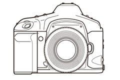 Κάμερα DSLR απεικόνιση αποθεμάτων