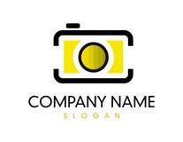 Κάμερα logotype Στοκ εικόνες με δικαίωμα ελεύθερης χρήσης