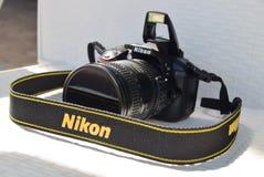 Κάμερα Nikon Στοκ εικόνα με δικαίωμα ελεύθερης χρήσης